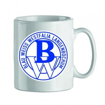 Porzellan Tasse mit Logo